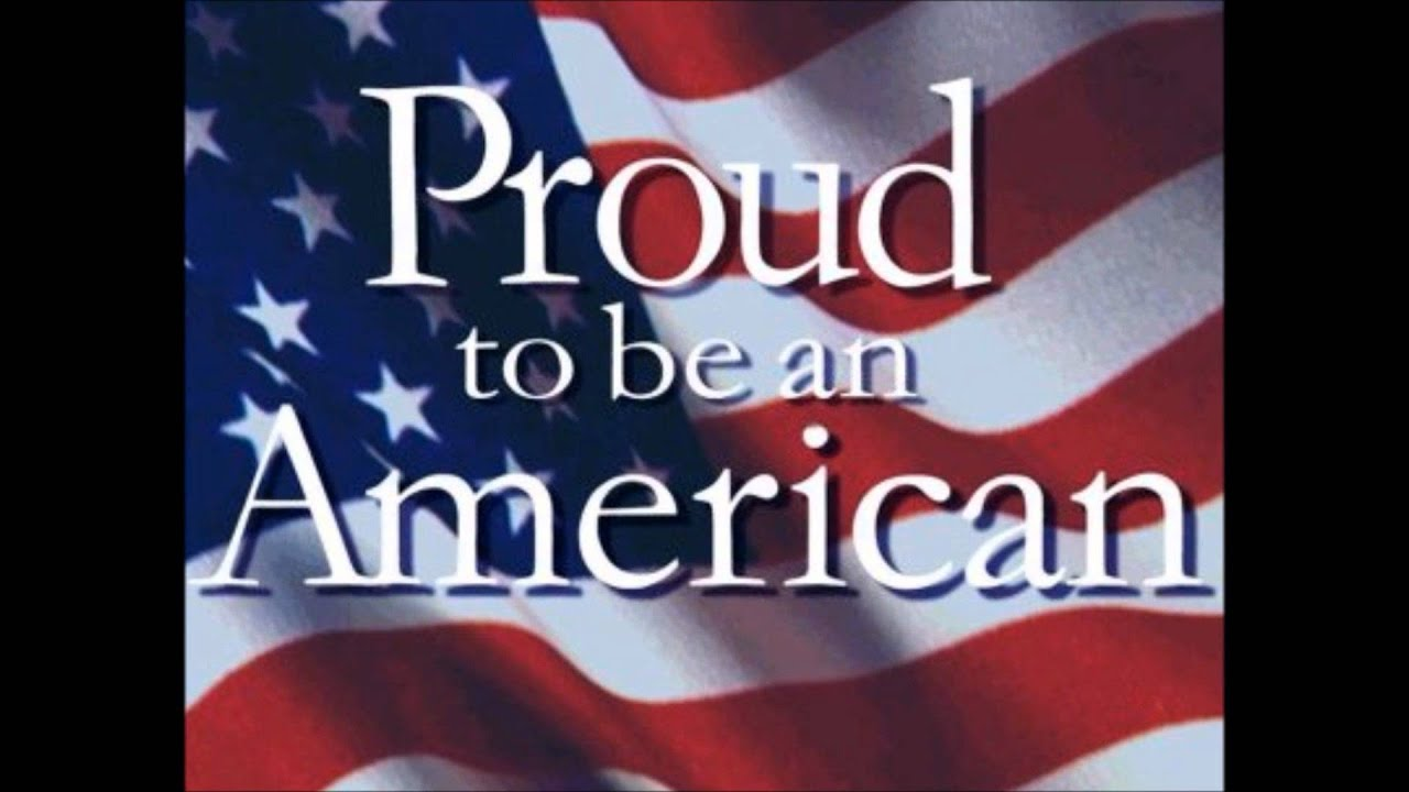 god bless usa proud to be an american