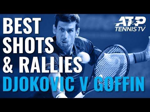 Novak Djokovic Trademark Brilliance v Goffin | Tokyo 2019 Semi-Final