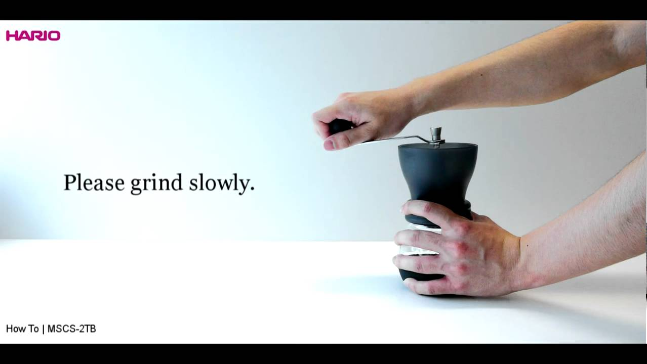 Hario Ceramic Coffee Grinder Instruction Movie Youtube