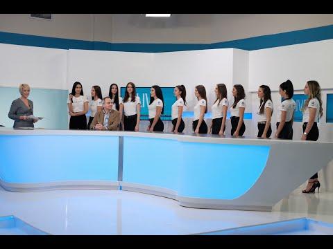 "Miss Κρήτη 2019 - Οι φιναλίστ στην εκπομπή ""Live με την Αντιγόνη"" στην Τηλεόραση Creta! (10/12/19)"