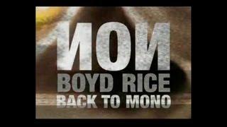 Non / Boyd Rice - Back To Mono (NEW ALBUM)