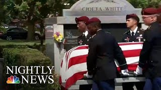 Niger Ambush: Funeral Held For Sergeant La David Johnson | NBC Nightly News