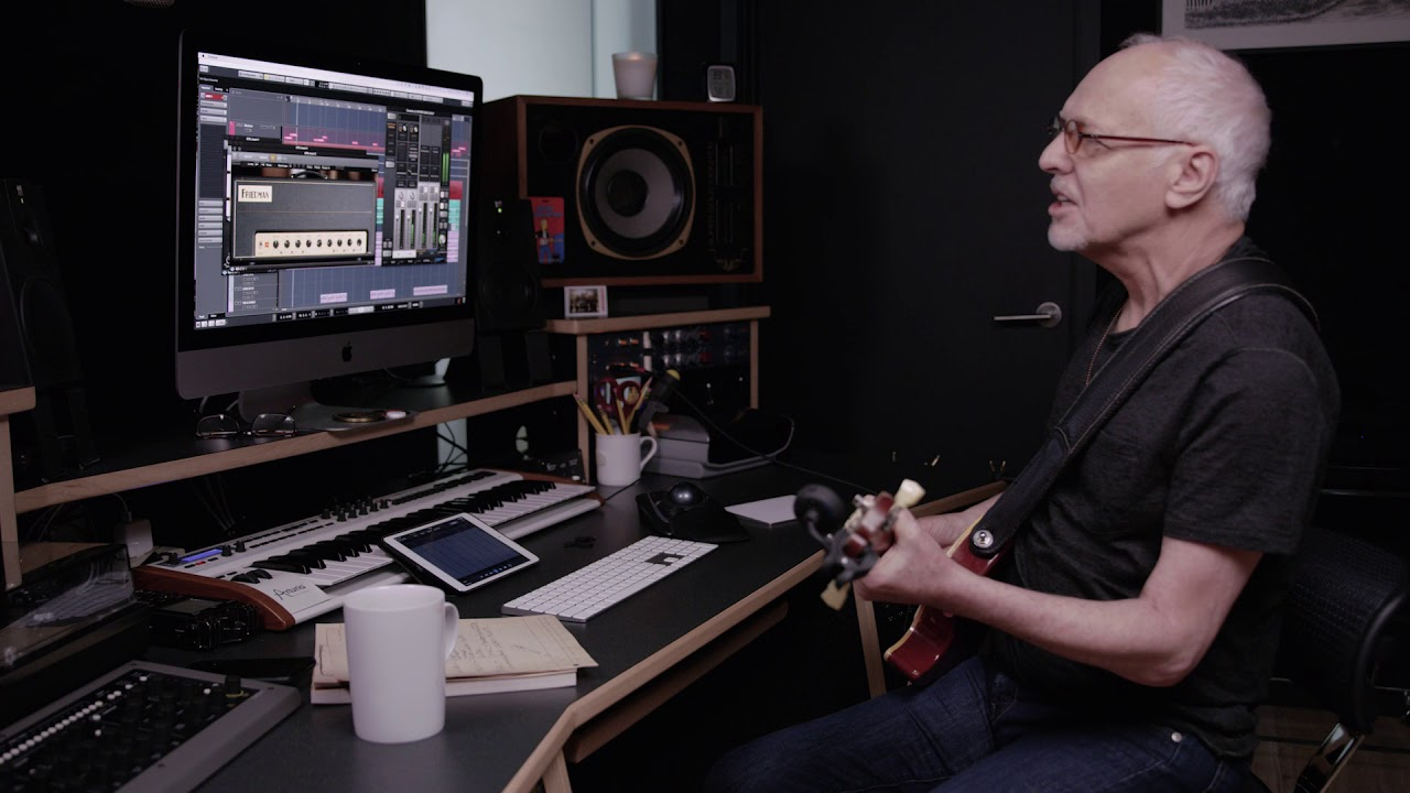 Peter Frampton In His Home Studio With Universal Audio