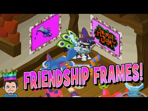 MAKING ART WITH THE NEW FRIENDSHIP FRAMES 🖼 EPIC MASTERPIECES