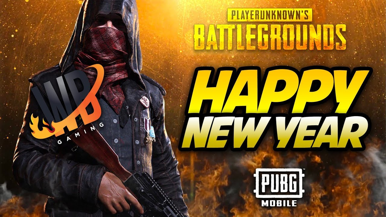 Happy New Year From Warbrad Gaming Pubg Mobile