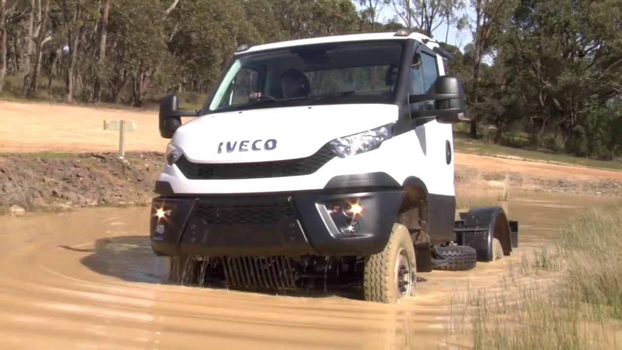 iveco daily 4x4 induction video