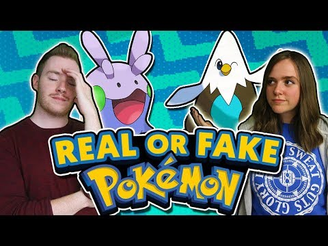 REAL or FAKE Pokémon Challenge with Pokémon Amateur!