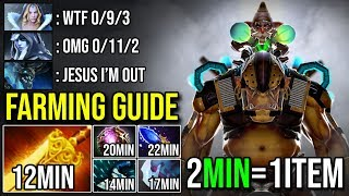 You Want to Fast Farm ? Then Watch This 2Min=1Item 1150GPM Alchemist MADE ENEMY ABANDON GAME DOTA 2