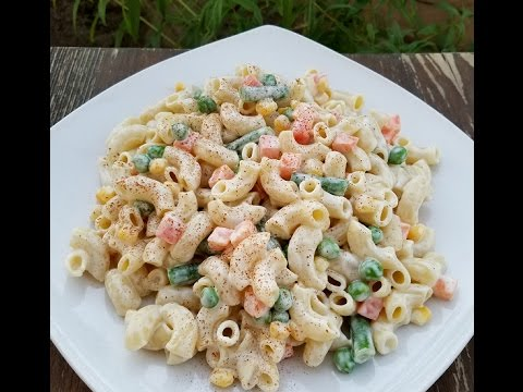 How to make a classic American Macaroni Salad recipe