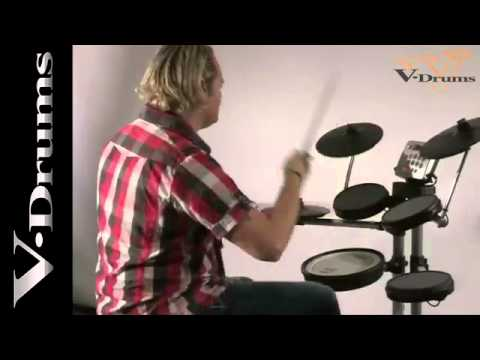roland hd 3 practice v drum lite set produktvideo youtube. Black Bedroom Furniture Sets. Home Design Ideas