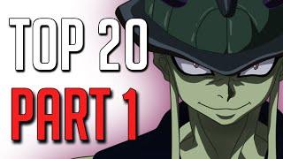 Top 20 mÉchants manga/anime [part 1]