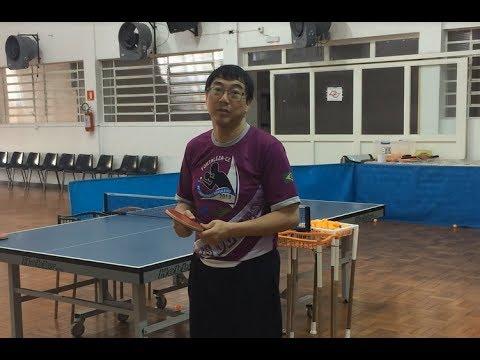 5e146eb06 Tênis de Mesa AJAB - Jimmy Chang - Treino  1 - Decisão de Local ...