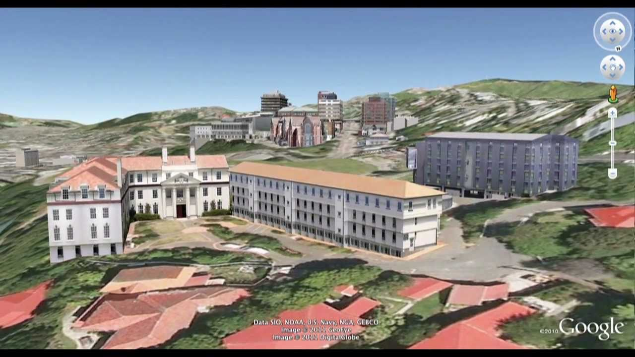 Victoria University Of Wellington Campus Flyover Youtube