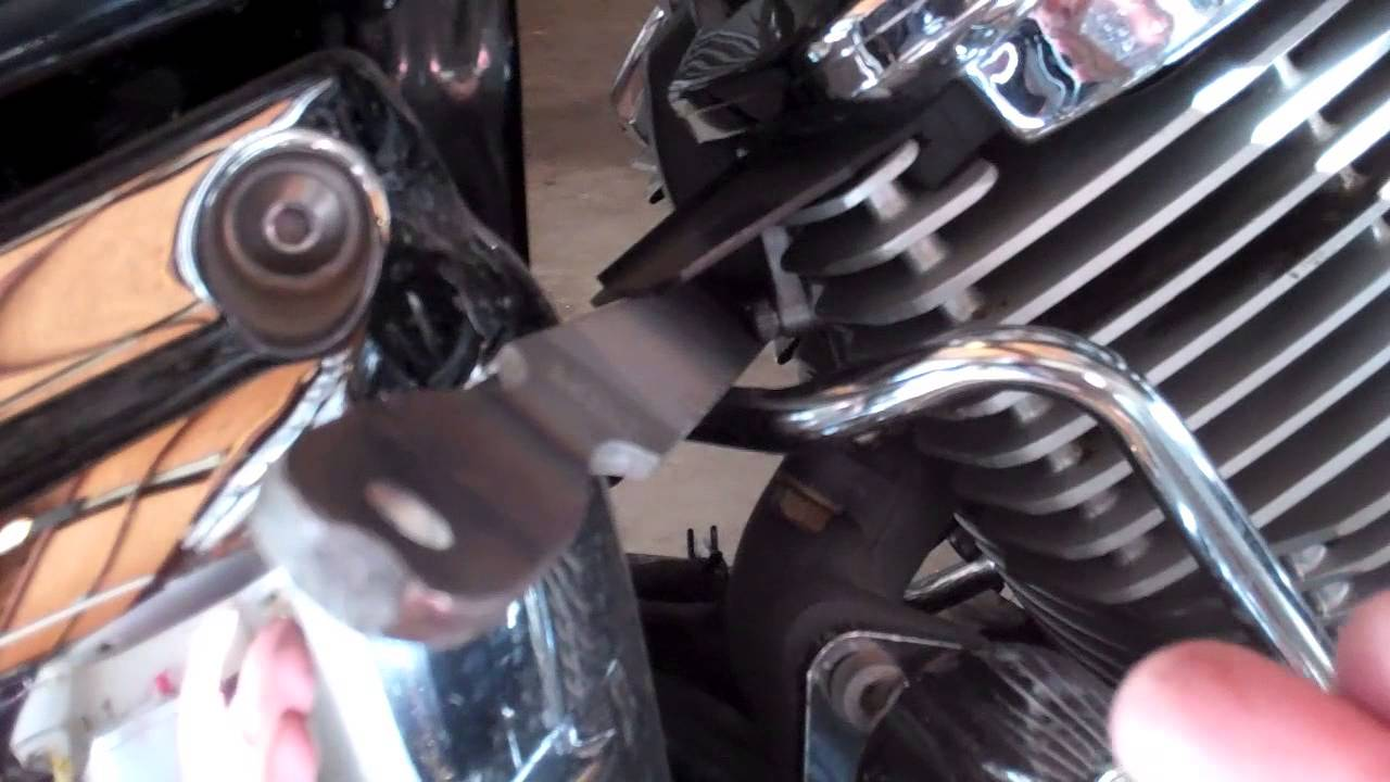 removing yamaha v star 1100 custom ais system [ 1280 x 720 Pixel ]