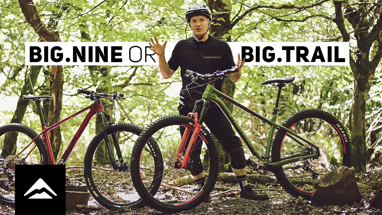 Trail or XC hardtail? MERIDA BIG.TRAIL or BIG.NINE?   Which one is best for you?