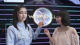 イノサクとぼんぼんが「近未来スポーツ WARP BALL」初体験!