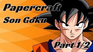 Papercraft - Goku 1/2