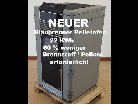 hightech heizung pelletofen blaubrenner einfach genial youtube. Black Bedroom Furniture Sets. Home Design Ideas