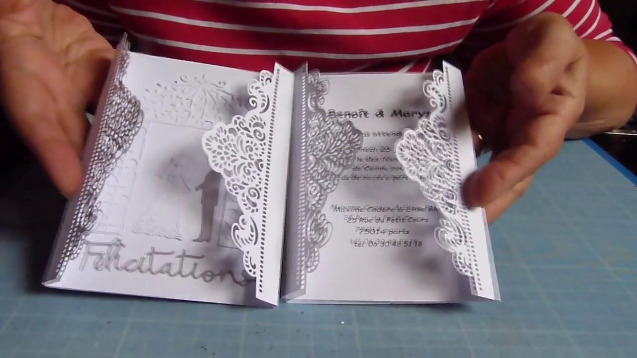 scrapbooking comment creer un faire part de mariage et une carte de felicitations