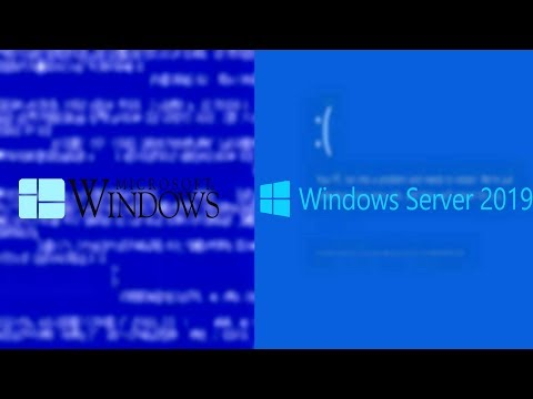 Windows All Blue Screens Of Death (BSODs) 1.0 To Server 2019 In 4K