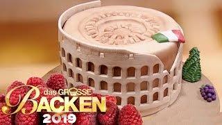 Kolosseum-Kuchen: Welche Sehenswürdigkeit gelingt? | Verkostung | Das große Backen 2019 | SAT.1