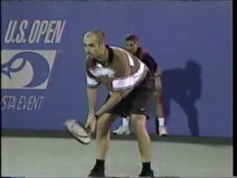 1995   Us Open   Semifinale   Andre' Agassi b Boris Becker 9 9