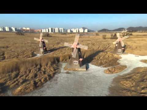 Arerial video of Sorae Ecology Park, Korea by Bebopdrone2
