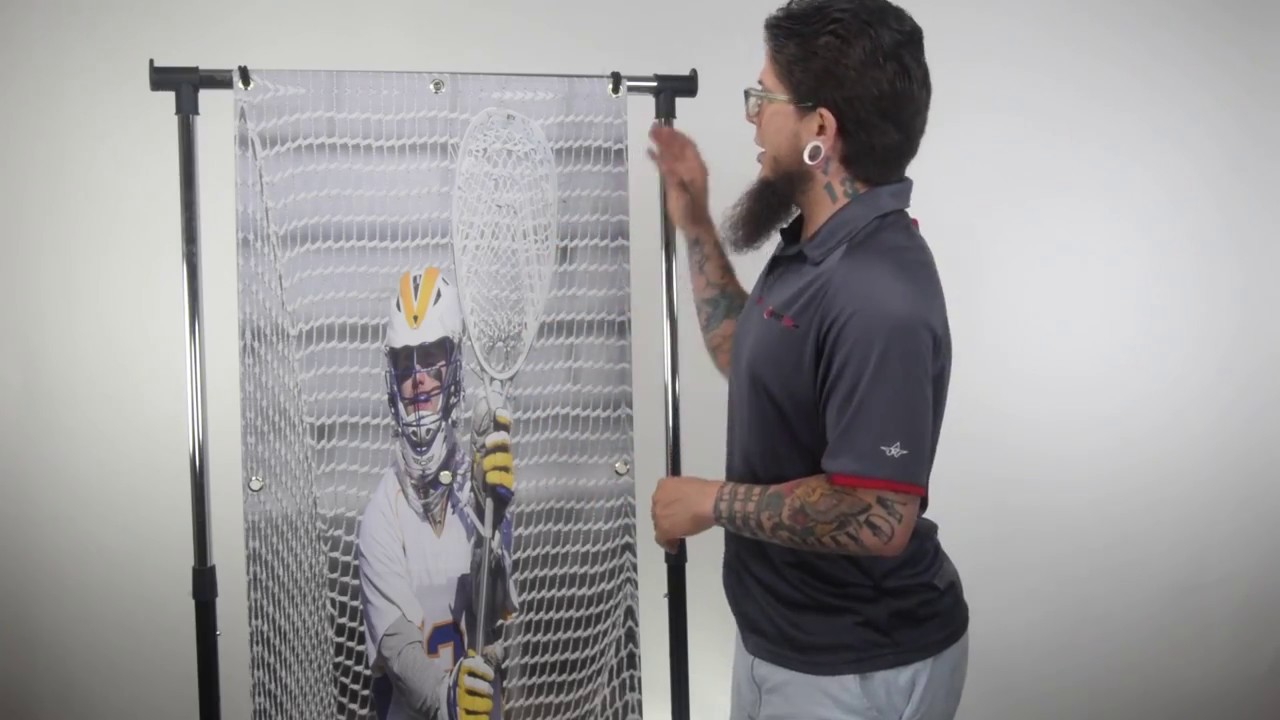 Flip Goalie Lacrosse Goal Target Panel Product Video @SportStop.com