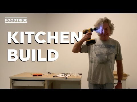 Watch James May build his kitchen