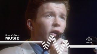Rick Astley - Never Gonna Give You Up (The Prince's Trust Rock Gala 1988)