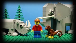 Be nice to your animal friends at the Lego zoo... Click Here to Sub...