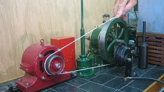 How to make Flat Belts for Model Steam Engines.