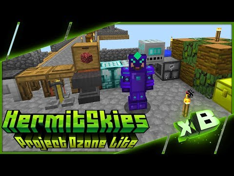 Infinity Tools & Dire Crafting! :: HermitSkies   Project Ozone Lite :: E18