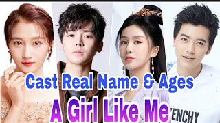 A Girl Like Me Chinese Drama Cast Real Name & Ages, Gabrielle Guan, Neo Hou,Li Chung Lin BY ShowTime