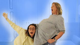 we do an improv skit about my birth (feat. my mom)