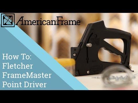 Fletcher Framemaster Point Driver Youtube