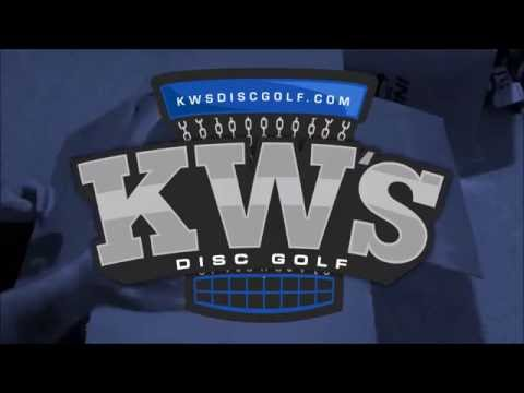 9/30/16 - KWs Disc Golf - Heavy Duty PVC Disc Golf Storage Rack Build