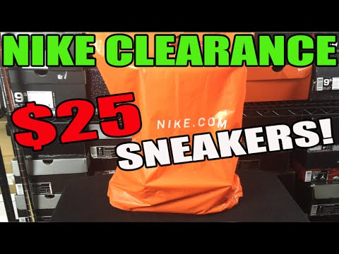 $25 Sneakers From Nike Clearance Sale! (Retail $120)