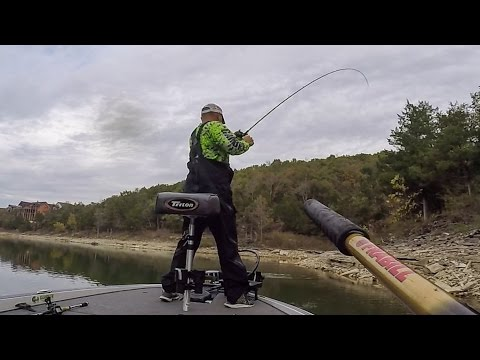 Topwater action on Table Rock