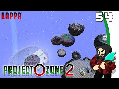 [Minecraft] Project Ozone 2 Reloaded Kappa mode #54 - De quoi stocker en plus du RF
