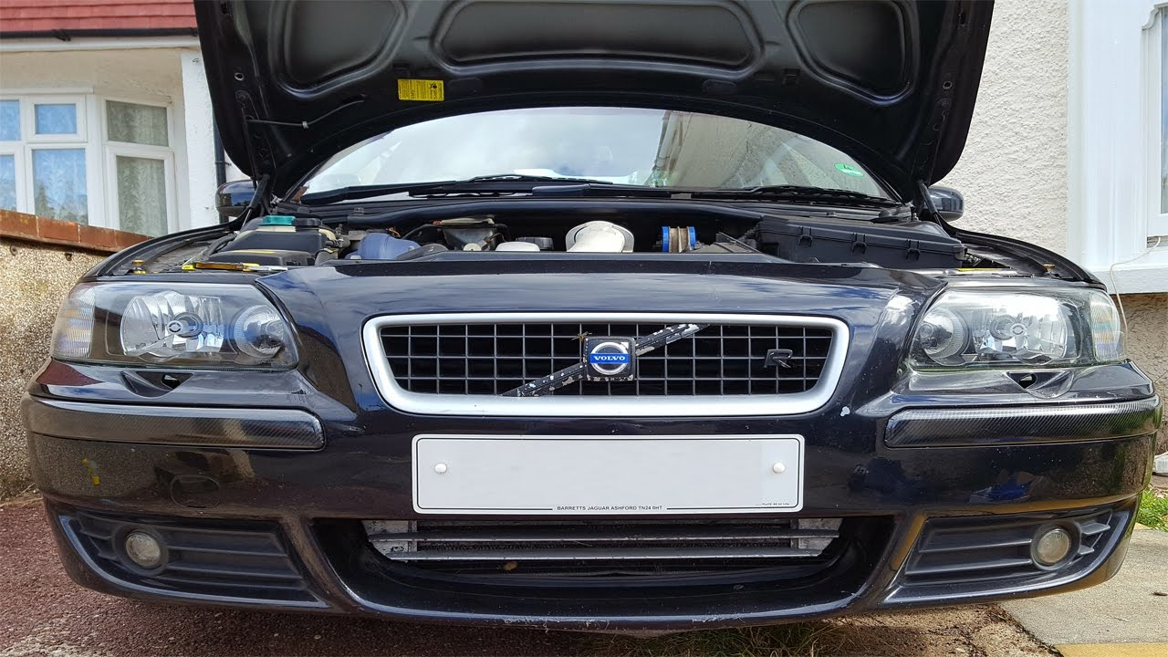 Volvo S60R Front Bumper and headlight removal - YouTube