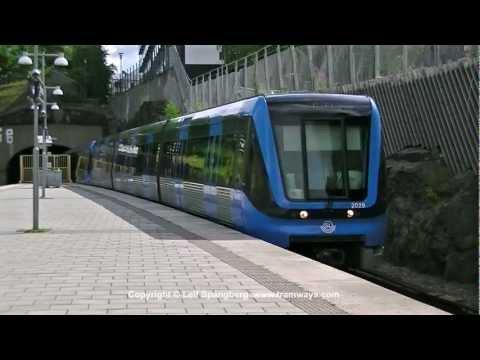 SL Tunnelbana / Metro at Telefonplan station, Stockholm