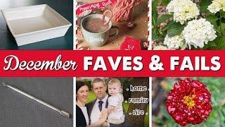 December Faves & Fails | A Thousand Words