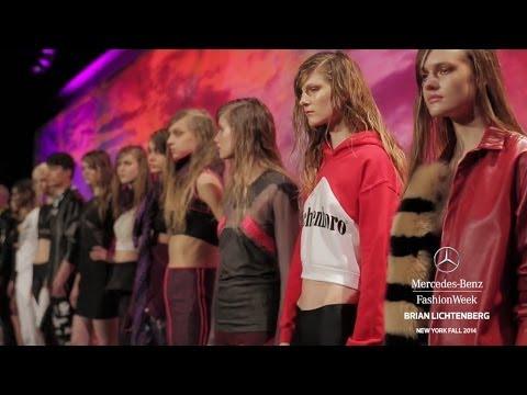 """""""BRIAN LICHTENBERG"""" New York Fashion Week Fall Winter 2014 2015 by Fashion Channel"""
