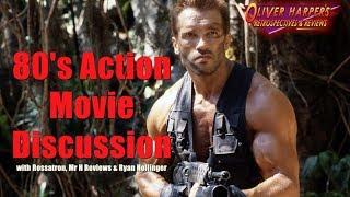 80's Action Movie Discussion (feat. Rossatron, Mr H Reviews & Ryan Hollinger)