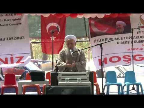 2015 ahmet islamoğlu hoca efendi izmir buca cennet vadisi sene sonu merasimi