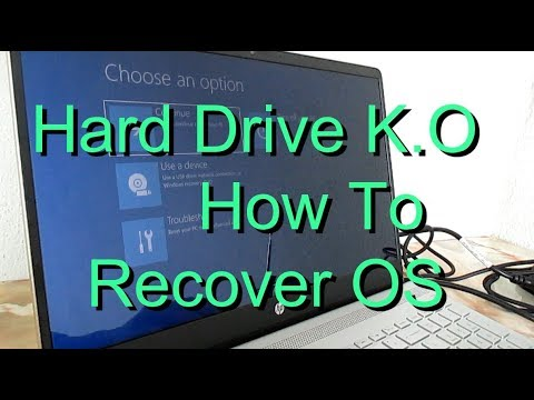 create a recovery media windows 10 hp