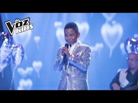 Carlos Mario canta Mi Buen Amor | La Voz Kids Colombia 2018