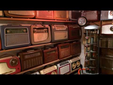 Radio museum. Part of my radio collection.