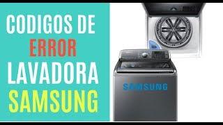 CODIGOS DE EEROR DE LA LAVADORA SAMSUNG